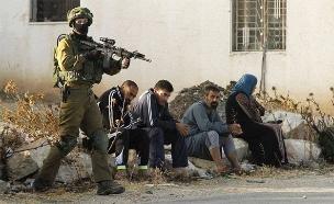 """כוחות צה""""ל ביטא (צילום: סוכנויות פלסטיניות)"""