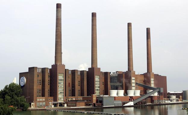 המפעל של פולקסווגן בולפסבורג, גרמניה (צילום: getty images ,getty images)
