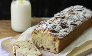 עוגת חלבה פקאן (צילום: קרן אגם ,אוכל טוב)