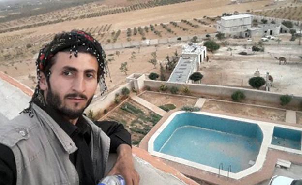 """האחוזה המדברית המפוארת של מנהיג דאע""""ש"""