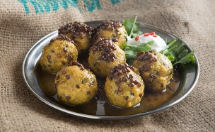 קציצות פרגיות הודיות (צילום: דרור עינב ,אוכל טוב)