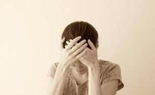 אישה עצובה (צילום: shutterstock)