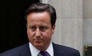 דיויד קמרון ראש ממשלת בריטניה (צילום: חדשות 2)