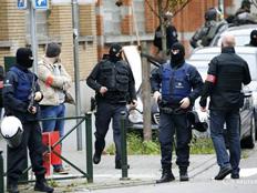 כוחות משטרה בבלגיה (ארכיון) (צילום: רויטרס)