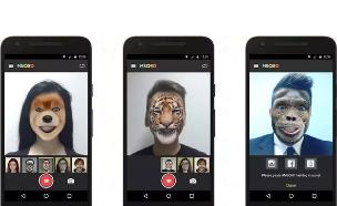 אפליקציית הווידאו-פילטרים MSQRD
