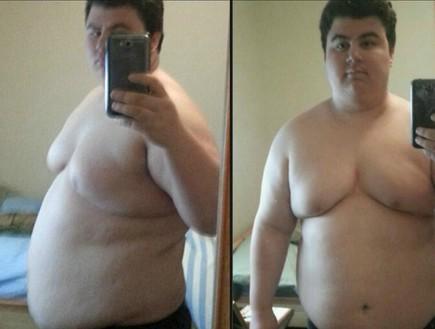 מהפך משקל (צילום: אינטסגרם\danny_getsfit)