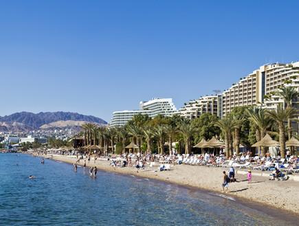 חוף באילת (צילום: Sergei25, Shutterstock)