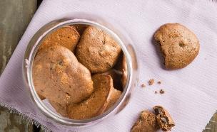 עוגיות שוקולד ללא תוספת סוכר (צילום: דרור עינב ,אוכל טוב)