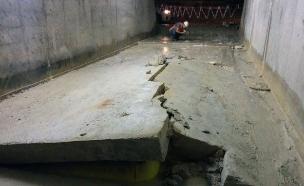 מנהרה שקרסה בפרויקט הרכבת המהירה לירושלים(TheMarker)