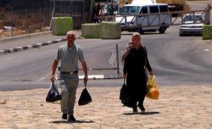 בטונדות, מחסומים ומעצרים בחברון (צילום: חדשות 2)