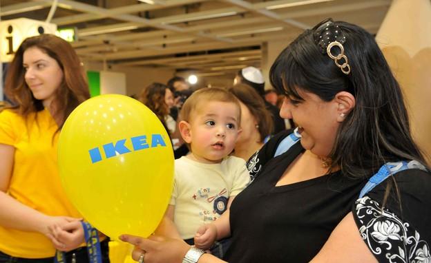 פתיחת חנות איקאה בראשון לציון, 2010 (צילום: יוסי זליגר ,פלאש 90)