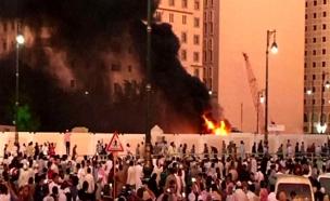 פיצוץ במדינה, ערב הסעודית (צילום: רויטרס)