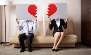 זוג מתגרש (אילוסטרציה: shutterstock ,shutterstock)