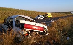 """תאונה קשה בבקעת הירדן. ארכיון (צילום: תיעוד מבצעי מד""""א)"""