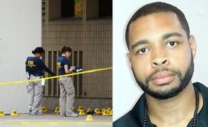 """מיקה """"חבייר"""" ג'ונסון הרוצח מהירי בדאלאס (צילום: רויטרס ,sky news)"""
