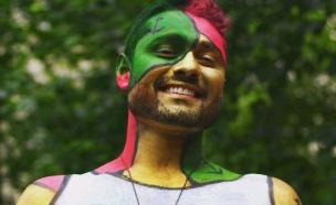 יום צבעי הגוף בניו יורק (צילום: instagram ,מעריב לנוער)