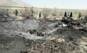 מטוסים מתרסקים באיראן (צילום: presstv.ir)