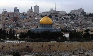 ירושלים, מבט מהר הזיתים להר הבית (צילום: דניאל נחמיה, חדשות 2)
