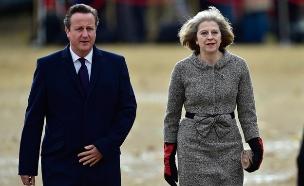 קמרון עזב, תרזה מיי ראשת הממשלה (צילום: רויטרס)