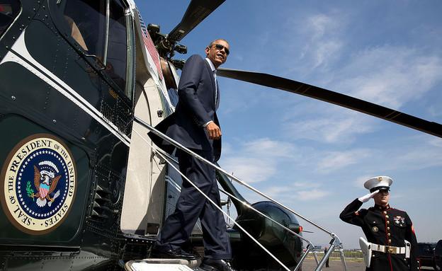 המסוק הנשיאותי (צילום: flickr/The White House)