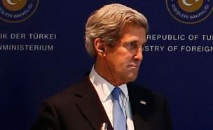 מזכיר המדינה האמריקנית, קרי (צילום: רויטרס)