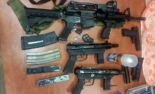 גל מעצר של חשודים בסחר בכלי נשק (צילום: חטיבת דובר המשטרה)