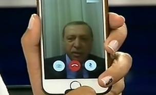 צפו בשיחה עם המגישה הטורקית שראיינה את ארדואן