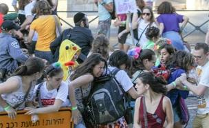 המצעד בירושלים לפני שנה