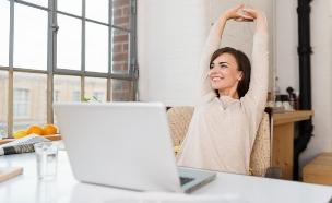 טיפים שיעזרו לכם להירגע בעבודה (אילוסטרציה: shutterstock ,mako)