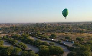 פסטיבל כדורי פורחים בפארק אשכול (צילום: חדשות 2)