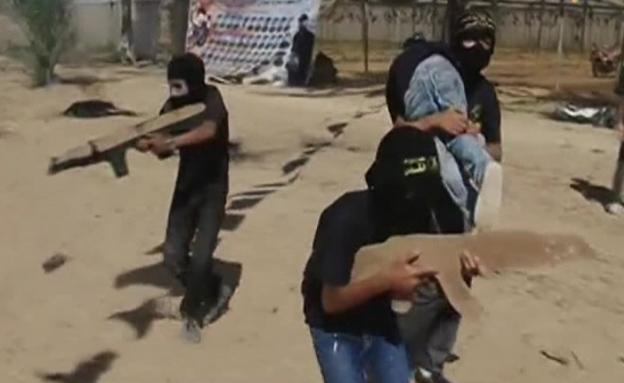 קייטנת חמאס (צילום: חדשות 2)