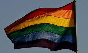 דגל הגאווה (צילום: getty images)