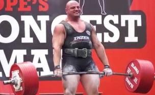 האיש הכי חזק באירופה (צילום: אינטסגרם\biglozwsm)