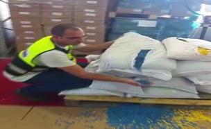 צפו: סיכול ההברחה בבית המכס באשדוד (צילום: דוברות רשות המיסים)