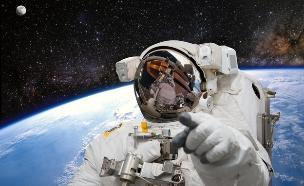 אסטרונאוט (צילום: shutterstock/Castleski)