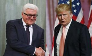 """עימות נוסף בין אירופה לארה""""ב (צילום: רויטרס)"""