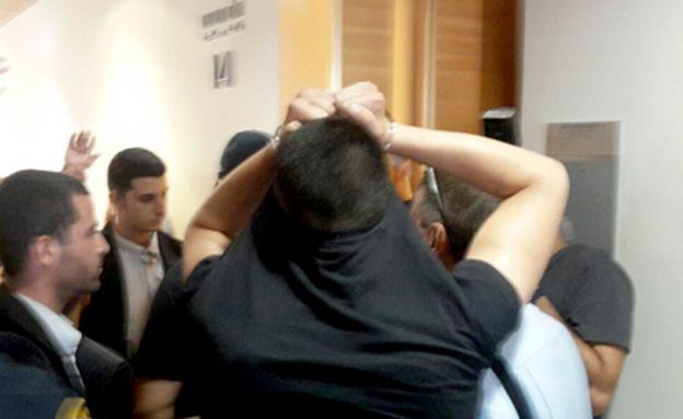 תיעוד: מעצר חלק מהחשודים (צילום: חדשות 2)