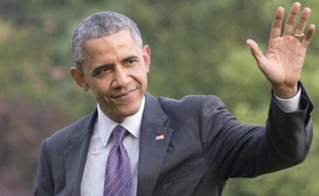 ברק אובמה שמאלי (צילום: אימג'בנק/GettyImages ,מעריב לנוער)