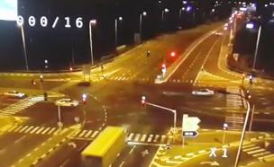 התאונה בפורדיס (צילום: חדשות 2)