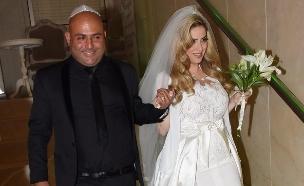 אסף אטדגי מתחתן (צילום: אביב חופי)