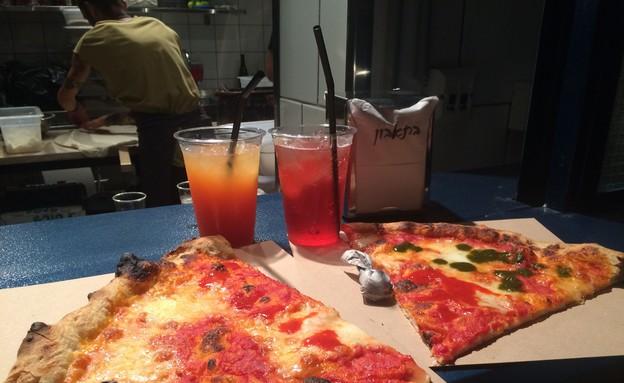 פיצה אייל שני (צילום: יעל קישיק ,אוכל טוב)