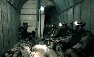 לוחמי יחידת המנהרות של חמאס, ארכיון (צילום: חמאס)
