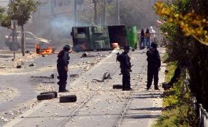 מהומות במזרח ירושלים, ארכיון (צילום: משטרת ישראל)