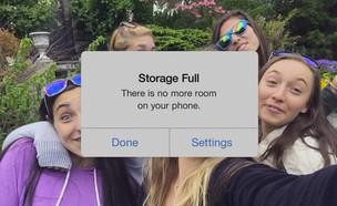 פרסומת ל-Google Photos שצוחקת על אייפון (צילום: גוגל ,גוגל)