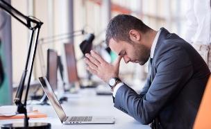 לחץ בעבודה (אילוסטרציה: shutterstock ,mako)