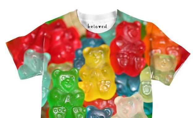 חולצות אוכל (צילום: צילום מסך ,מעריב לנוער)