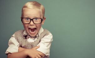 ילד שמח (צילום: shutterstock ,shutterstock)