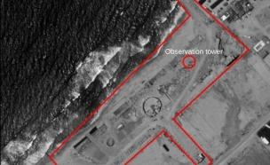 """בסיס הקומנדו הימי של חמאס (צילום: דובר צה""""ל)"""