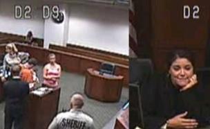 שופטת אמבר וולף (צילום: יוטיוב  ,יוטיוב)