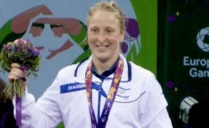 מועמדת למדליה. אילנה קרטיש